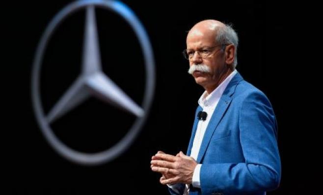 Imagem ilustrativa da notícia: Daimler prepara sucessão do CEO Dieter Zetsche