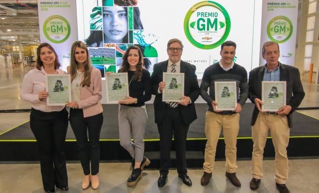 Imagem ilustrativa da notícia: GM entrega Prêmio de Sustentabilidade 2018