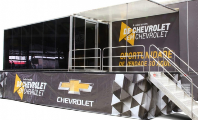 Imagem ilustrativa da notícia: GM aposta em concessionárias móveis