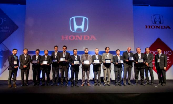 Imagem ilustrativa da notícia: A festa dos melhores fornecedores Honda