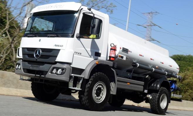 Imagem ilustrativa da notícia: Mercedes-Benz exporta vinte caminhões para Filipinas