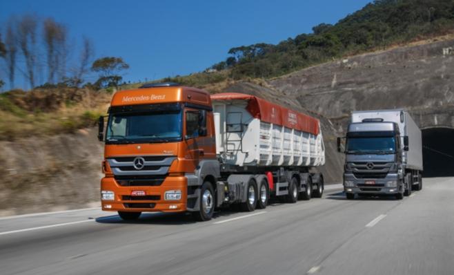Imagem ilustrativa da notícia: Pesados ainda puxam as vendas de caminhões