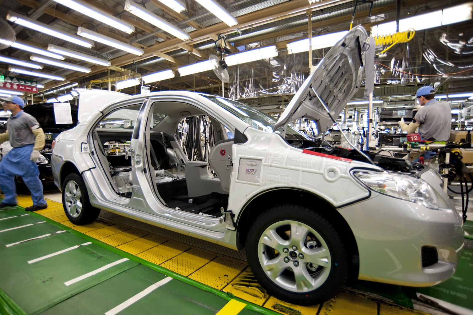 Imagem ilustrativa da notícia: Exportação da Toyota aumentará 14% este ano