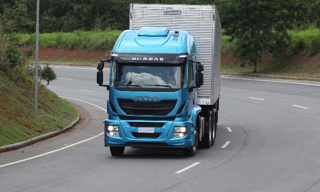 Imagem ilustrativa da notícia: Hi-Road é o novo pesado da Iveco no mercado