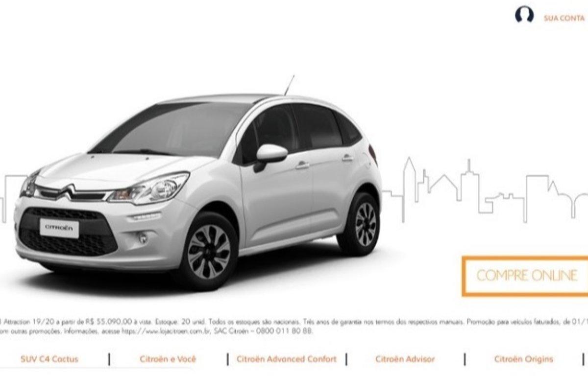 Imagem ilustrativa da notícia: Citroën começa a vender carros pela internet