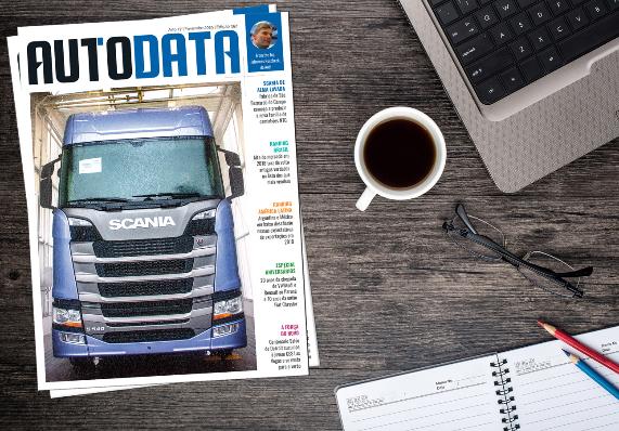 Imagem ilustrativa da notícia: Modernização da Scania é destaque em AutoData