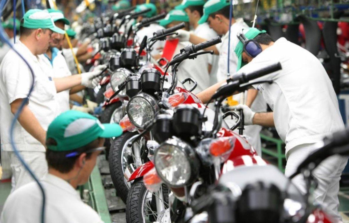 Imagem ilustrativa da notícia: Produção de motocicletas cresceu 25% em julho