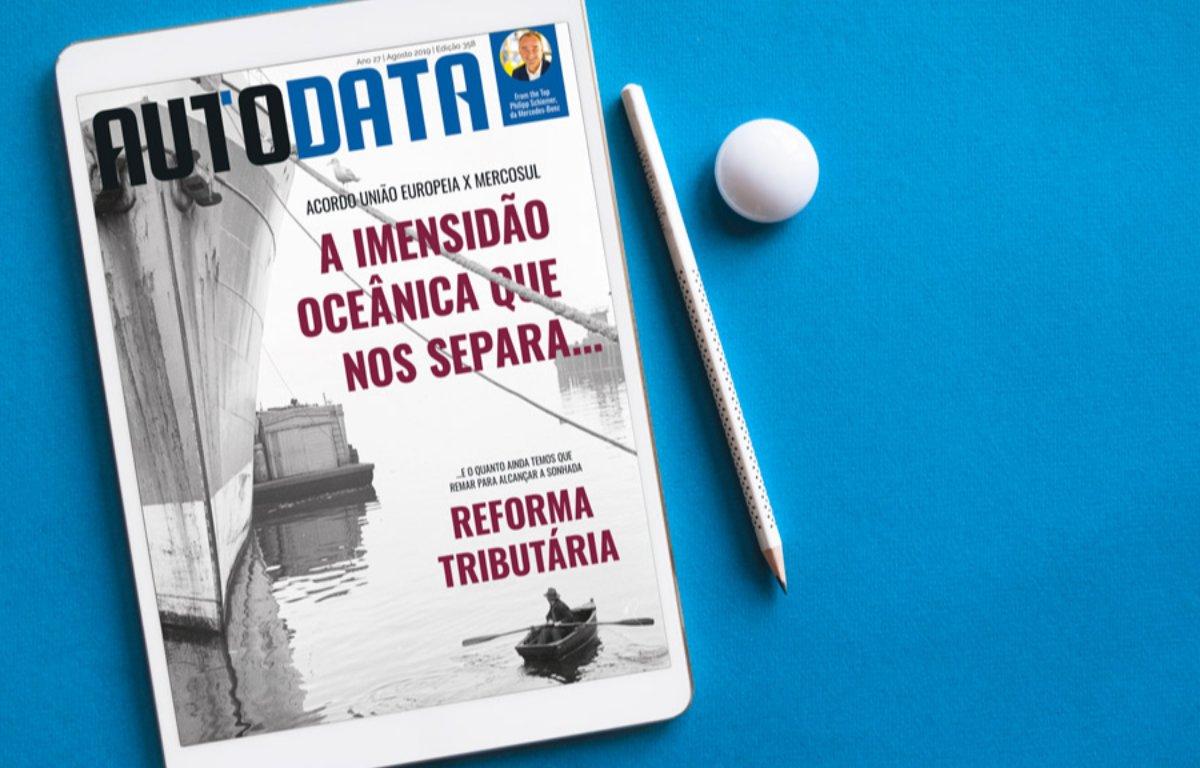 Imagem ilustrativa da notícia: Acordo Mercosul-UE e reforma tributária: destaques em AutoData 358.