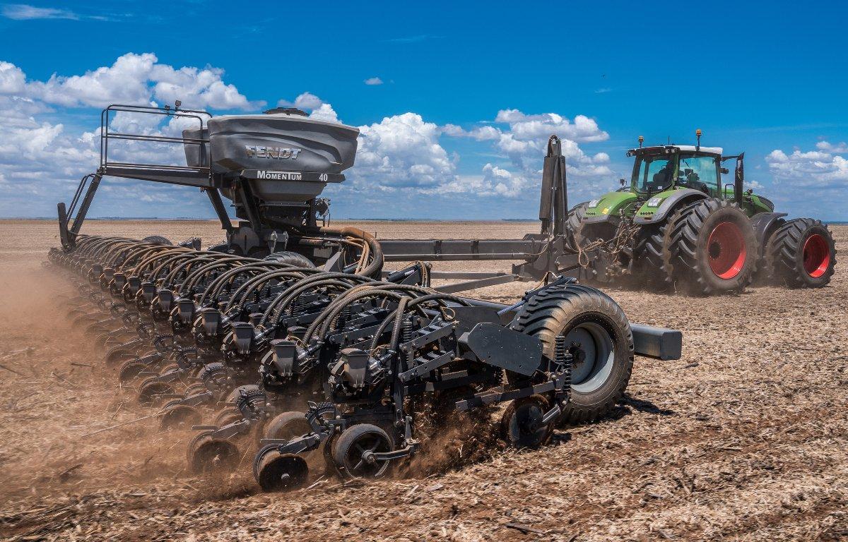 Imagem ilustrativa da notícia: AGCO desenvolve plantadeira no Brasil para o mundo