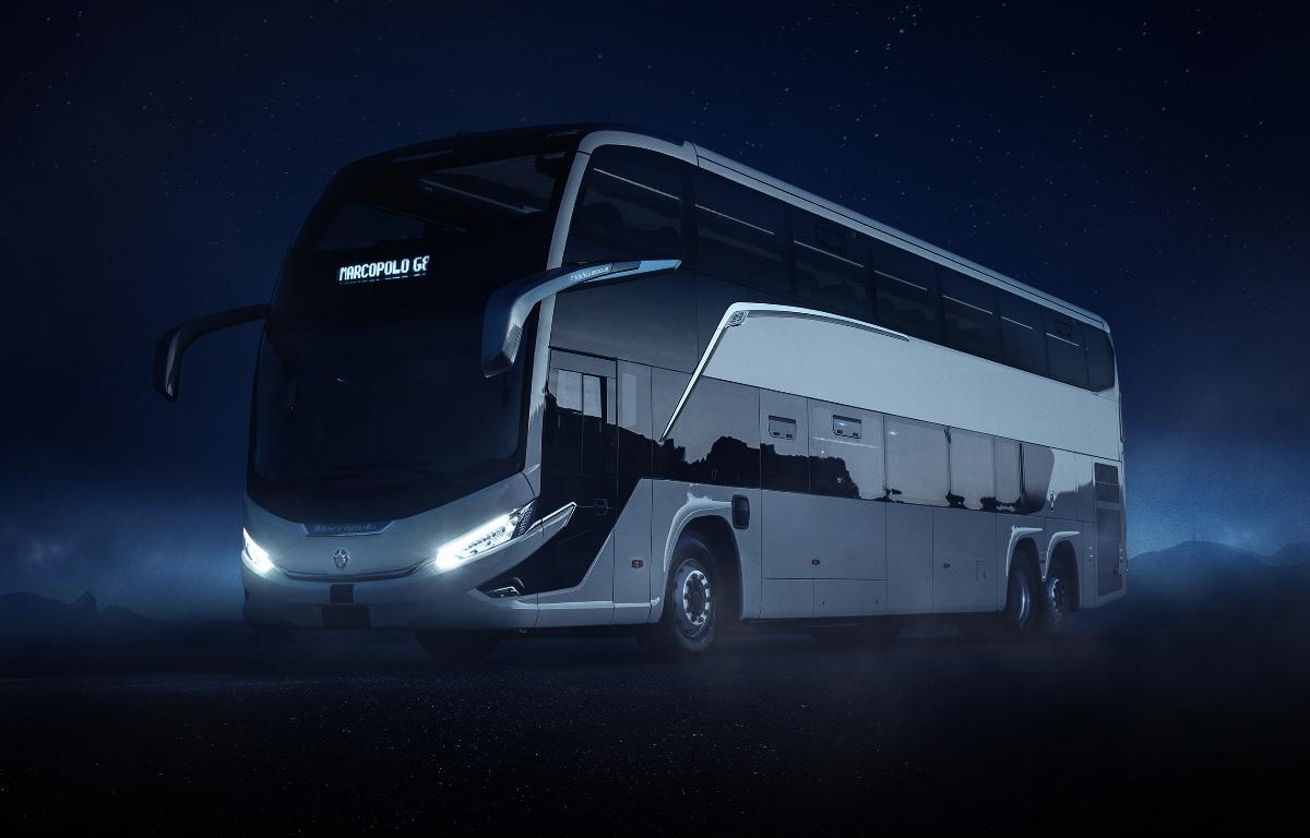 Imagem ilustrativa da notícia: Águia Branca foi a primeira compradora dos novos ônibus Marcopolo