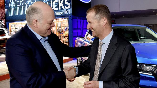 Imagem ilustrativa da notícia: Aliança Ford-VW começará com uma picape