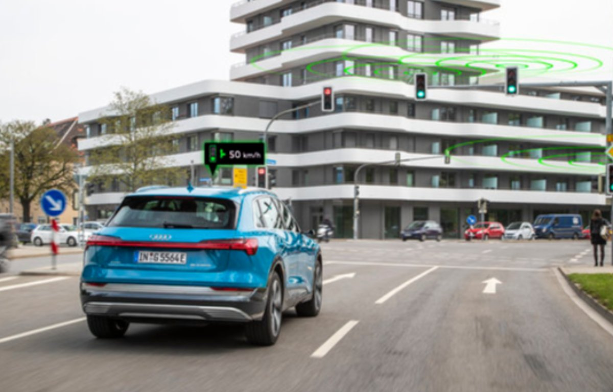 Imagem ilustrativa da notícia: Audi conecta carros a semáforos de Ingolstadt