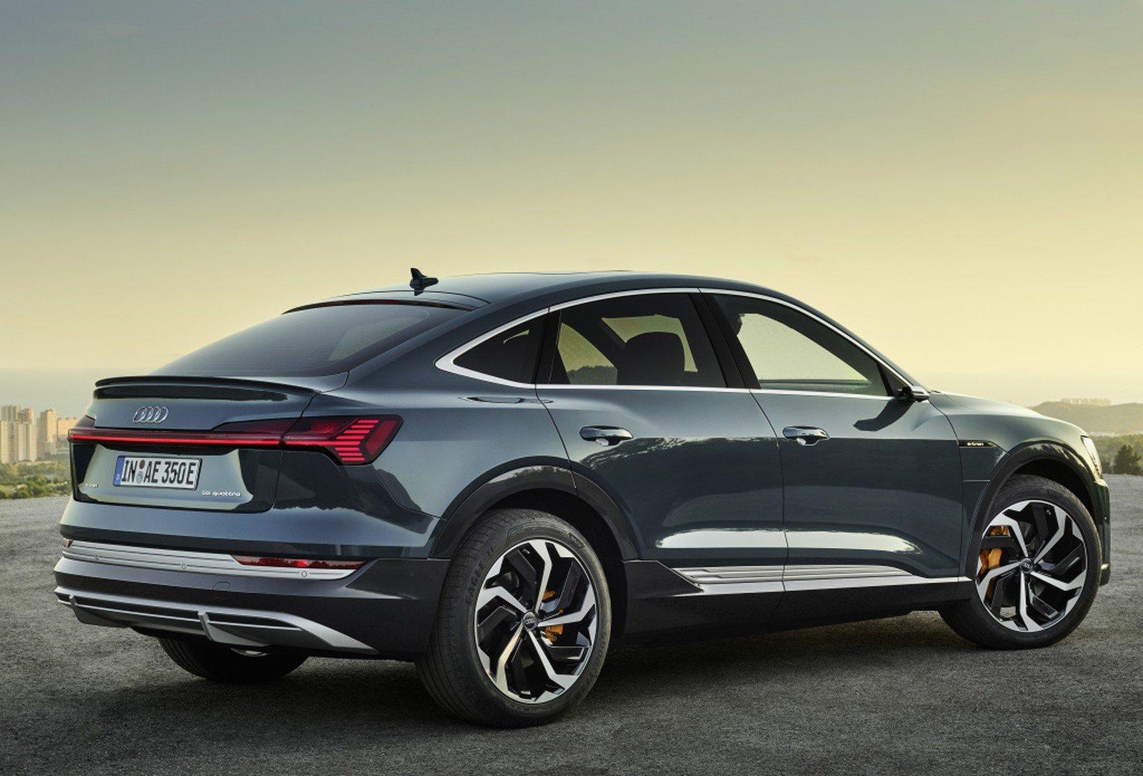 Imagem ilustrativa da notícia: e-tron Sportback será o segundo Audi elétrico no Brasil
