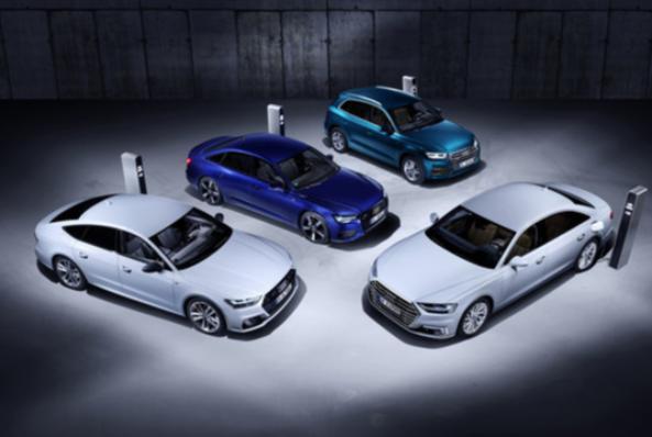 Imagem ilustrativa da notícia: Audi lança quatro híbridos no Salão de Genebra