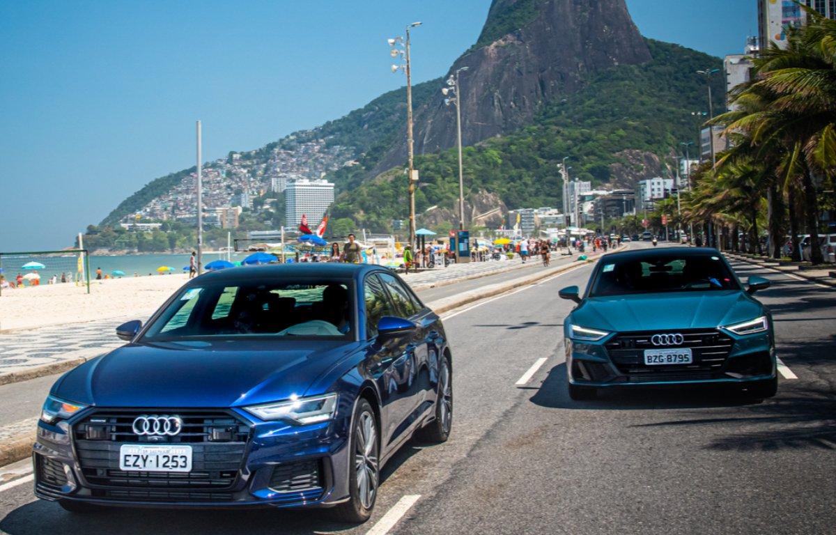 Imagem ilustrativa da notícia: Audi lança os novos A6 e A7 na ArtRio