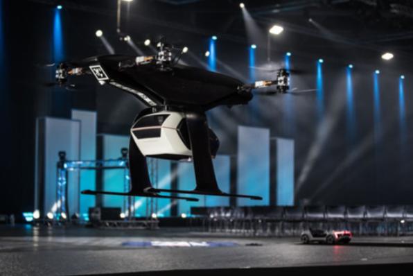 Imagem ilustrativa da notícia: Audi testa conceito de táxi voador