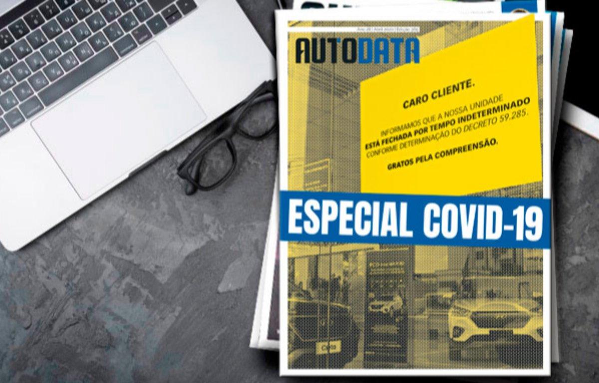 Imagem ilustrativa da notícia: AutoData Especial Covid-19 está no ar