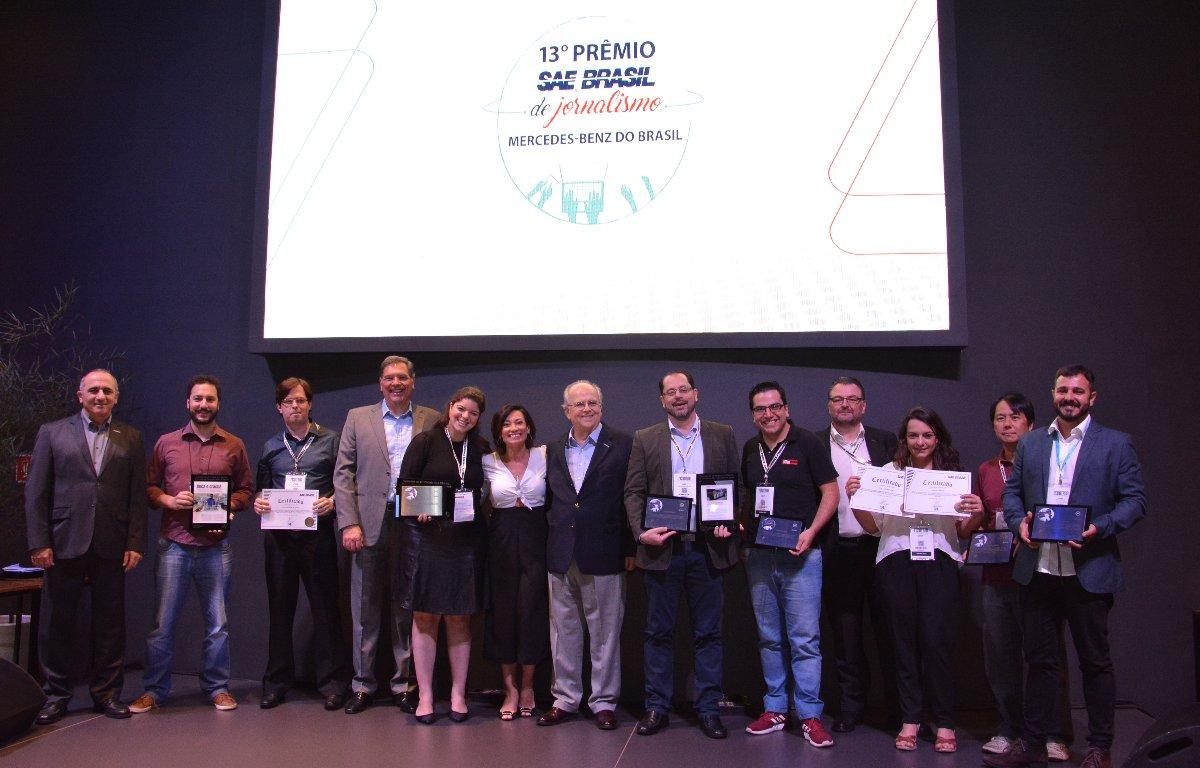 Imagem ilustrativa da notícia: AutoData recebe o Prêmio SAE Brasil de Jornalismo