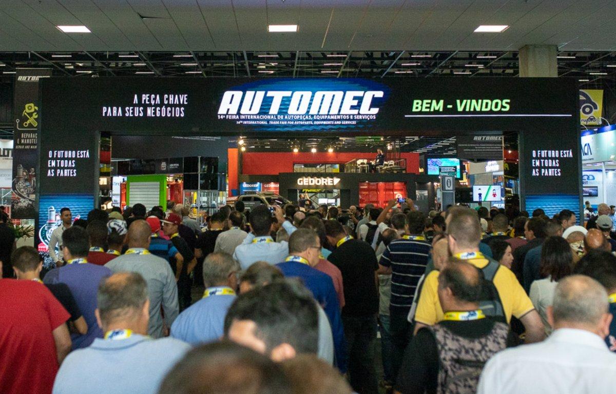Imagem ilustrativa da notícia: Automec abre as portas com público recorde