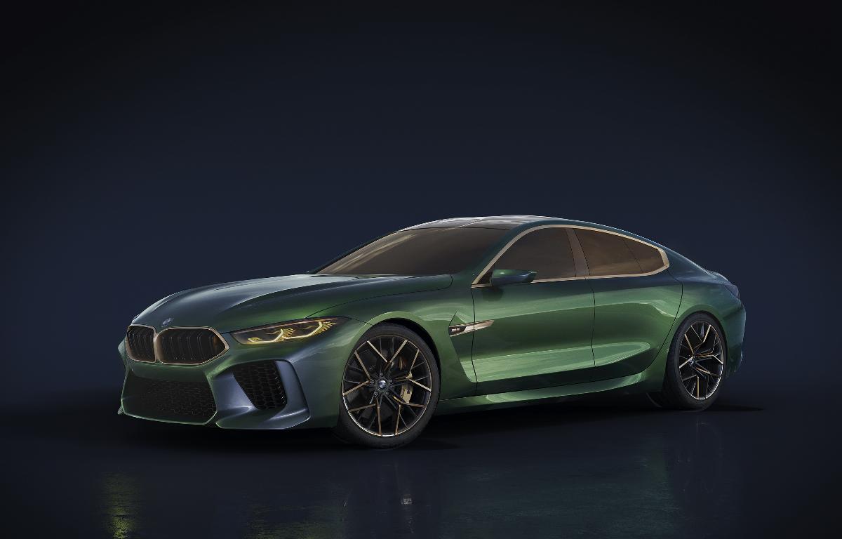 Imagem ilustrativa da notícia: BMW confirma M8 Gran Coupé First Edition no Brasil