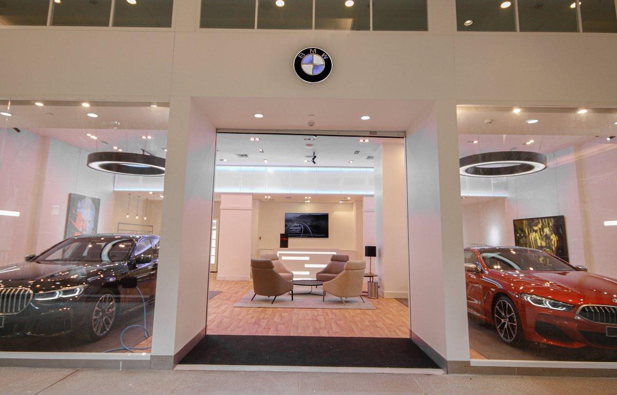 Imagem ilustrativa da notícia: BMW inaugura loja em shopping em São Paulo