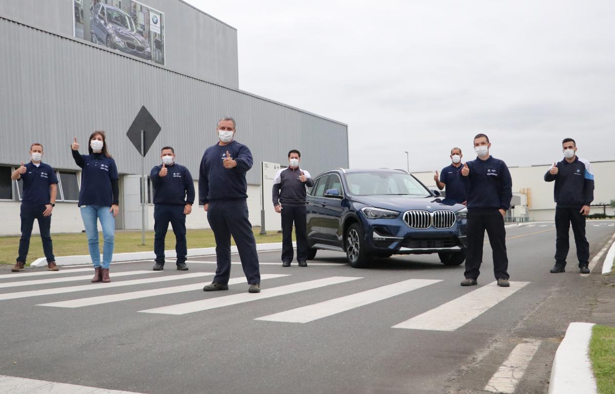 Imagem ilustrativa da notícia: BMW alcança 70 mil veículos produzidos em Araquari