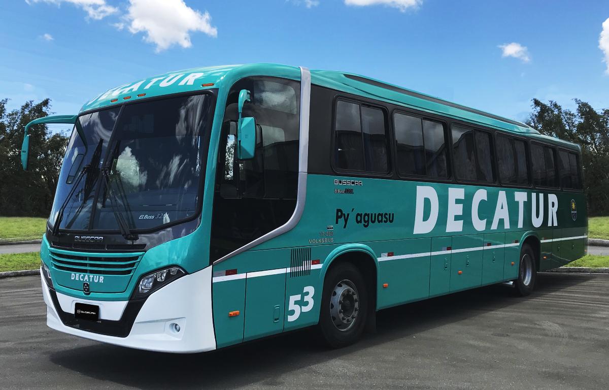 Imagem ilustrativa da notícia: Busscar exporta ônibus para o Uruguai