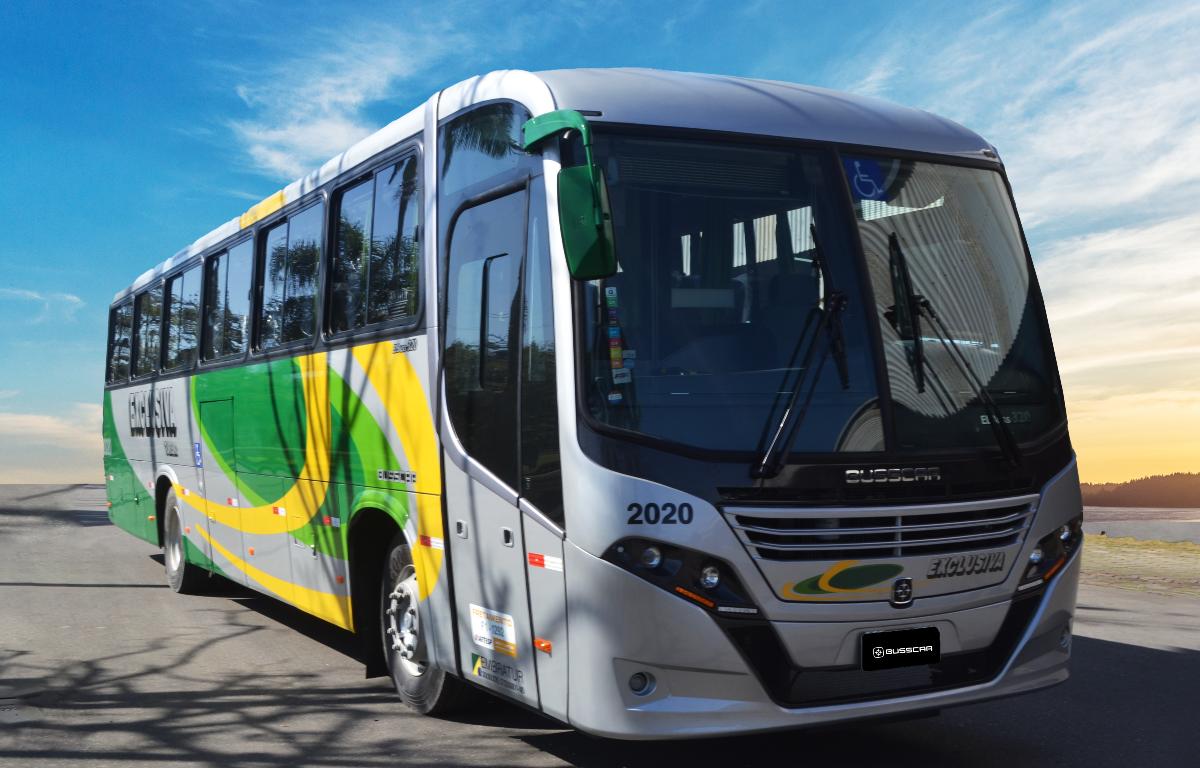 Imagem ilustrativa da notícia: Busscar vende 48 ônibus à Exclusiva