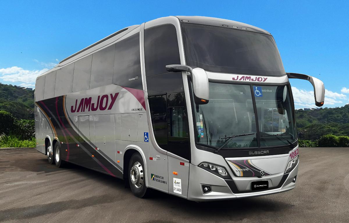 Imagem ilustrativa da notícia: Busscar vende ônibus Vissta Buss para a Jamjoy