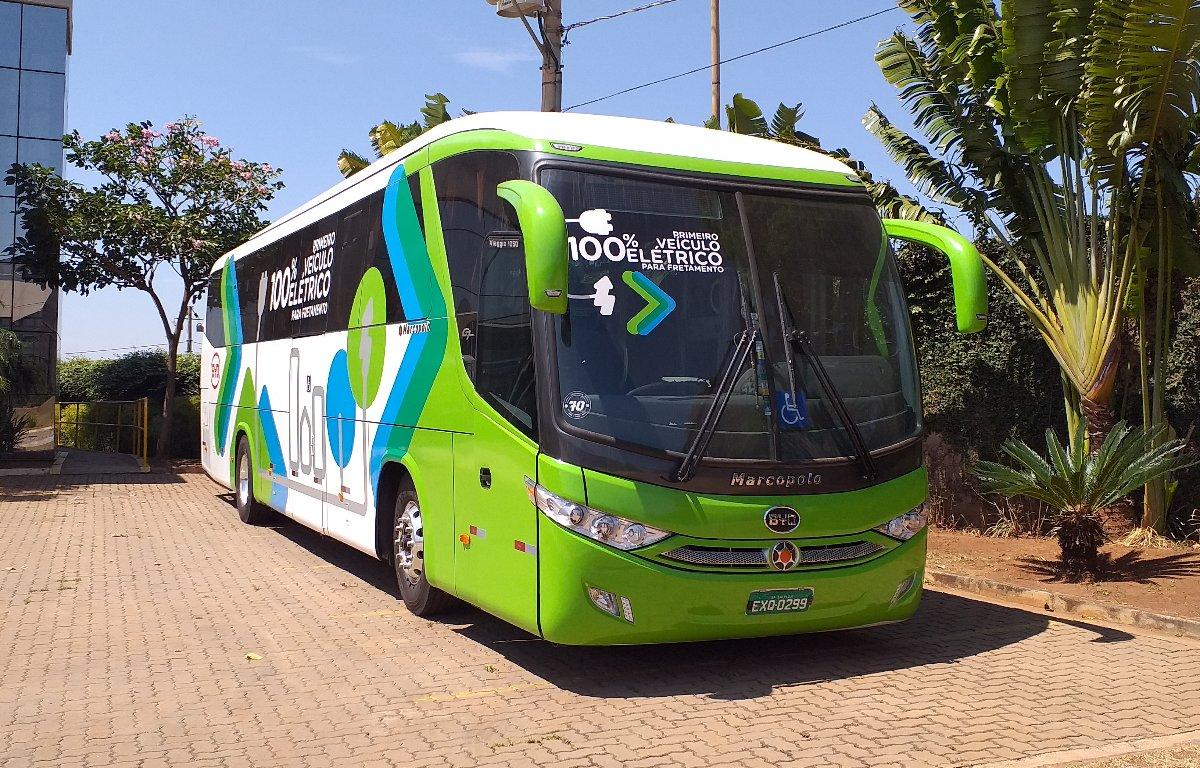 Imagem ilustrativa da notícia: BYD apresenta ônibus rodoviário elétrico nacional