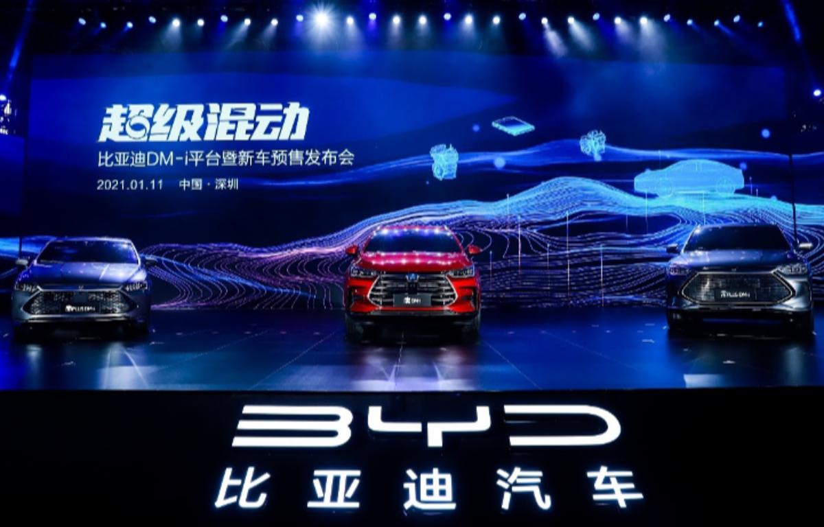 Imagem ilustrativa da notícia: BYD lança automóveis com sistema híbrido DM-i