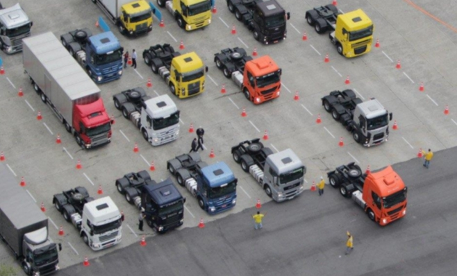 Imagem ilustrativa da notícia: Caminhões: pesados sustentam crescimento.