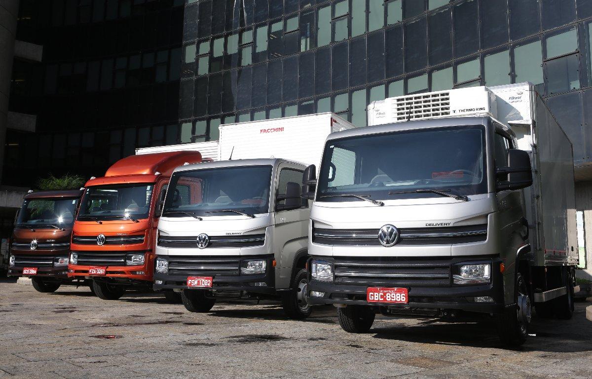 Imagem ilustrativa da notícia: Caminhões: vendas cresceram 38% até outubro.