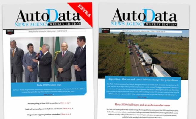 Imagem ilustrativa da notícia: Autodata Weekly Edition traz Rota 2030 e balanço da Anfavea