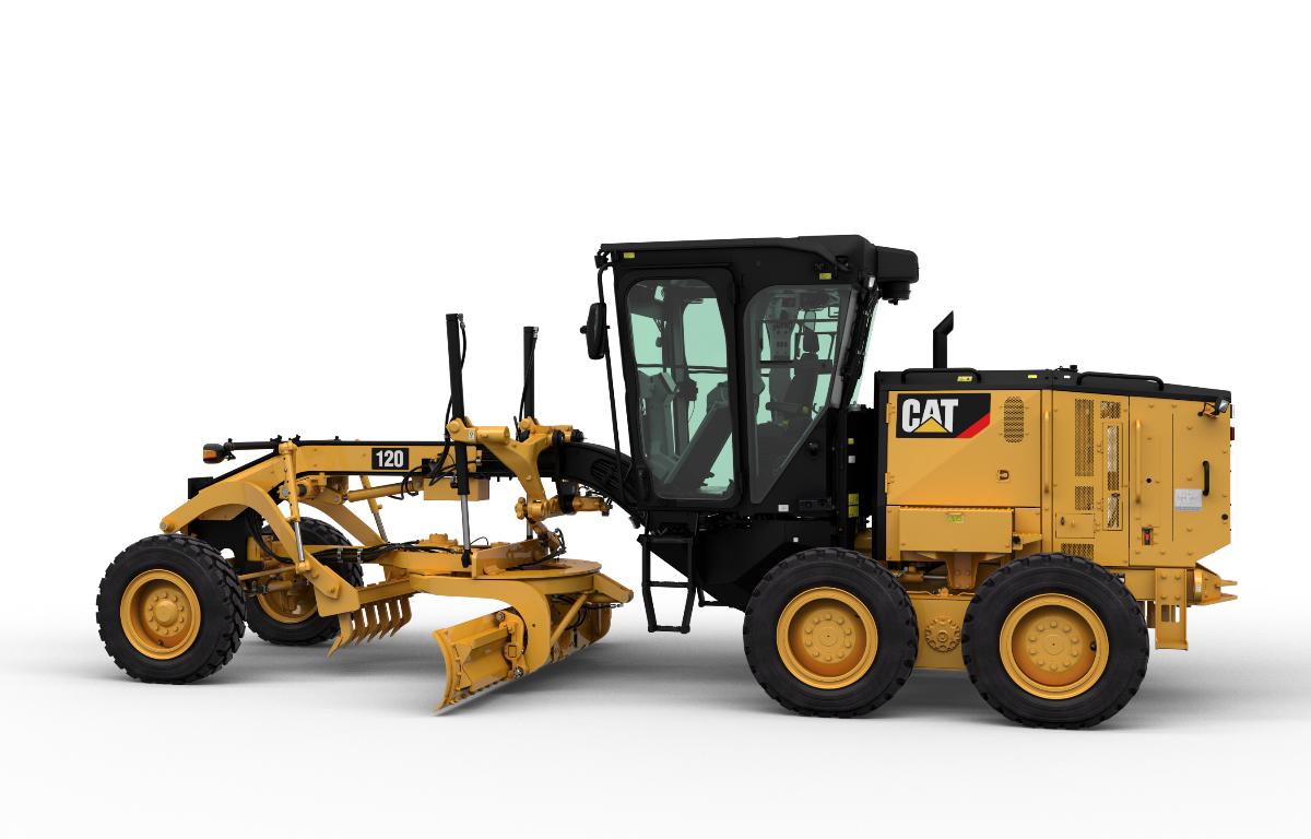 Imagem ilustrativa da notícia: Caterpillar já produziu 80 mil motoniveladoras no Brasil