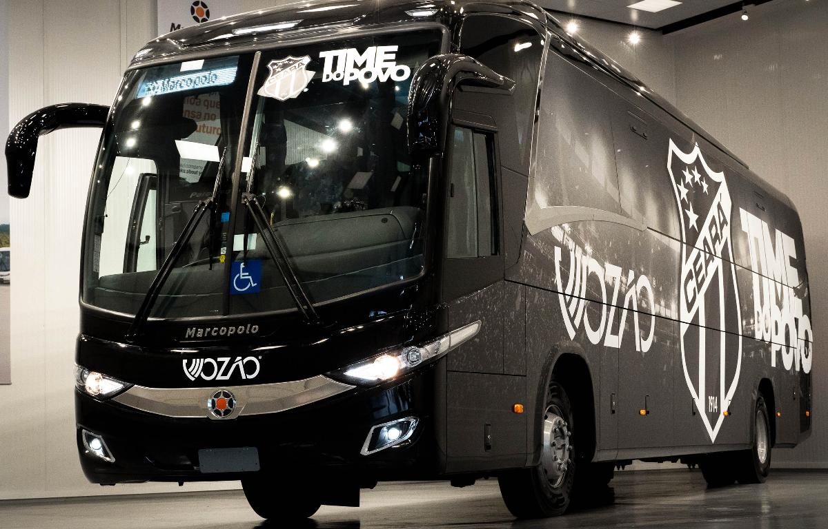 Imagem ilustrativa da notícia: Ceará Sporting Club compra ônibus da Marcopolo