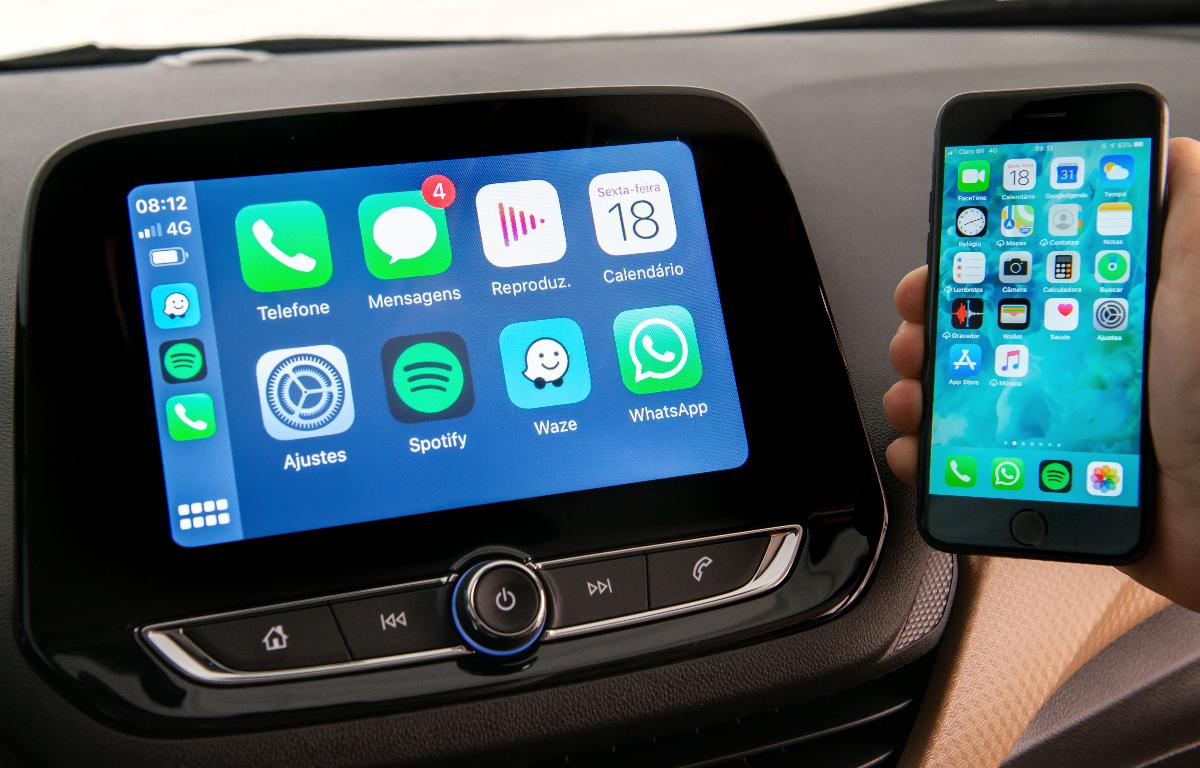 Imagem ilustrativa da notícia: Chevrolet Onix Premier ganha nova central multimídia
