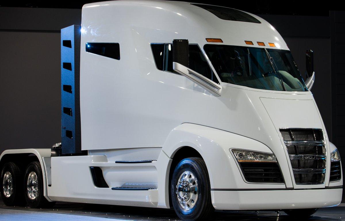 Imagem ilustrativa da notícia: CNH investe na eletrificação dos caminhões Nikola