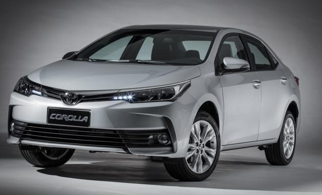 Imagem ilustrativa da notícia: Toyota Corolla é o carro mais vendido de 2017