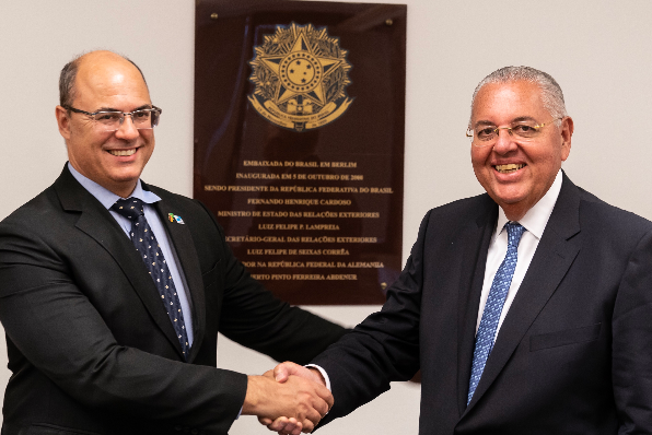 Imagem ilustrativa da notícia: Cortes reafirma investimento ao governador do RJ
