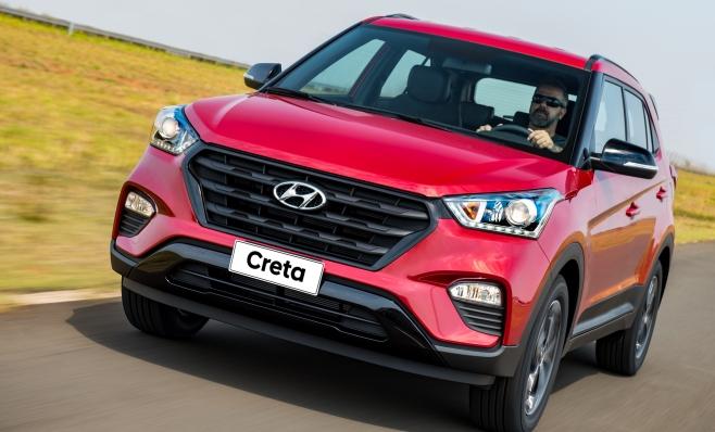 Imagem ilustrativa da notícia: Hyundai encara seu dilema:como liderar o segmento de SUVs com o Creta?