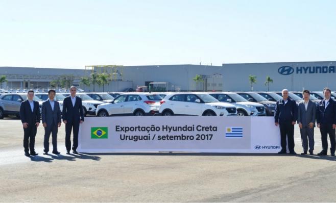 Imagem ilustrativa da notícia: 170 unidades do SUV Creta ao Uruguai até dezembro