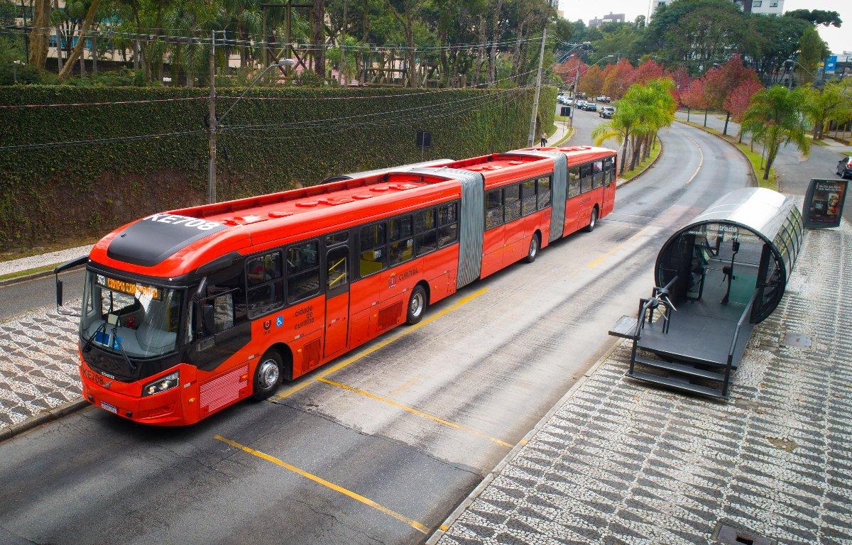 Imagem ilustrativa da notícia: Curitiba segue como vitrine da Volvo