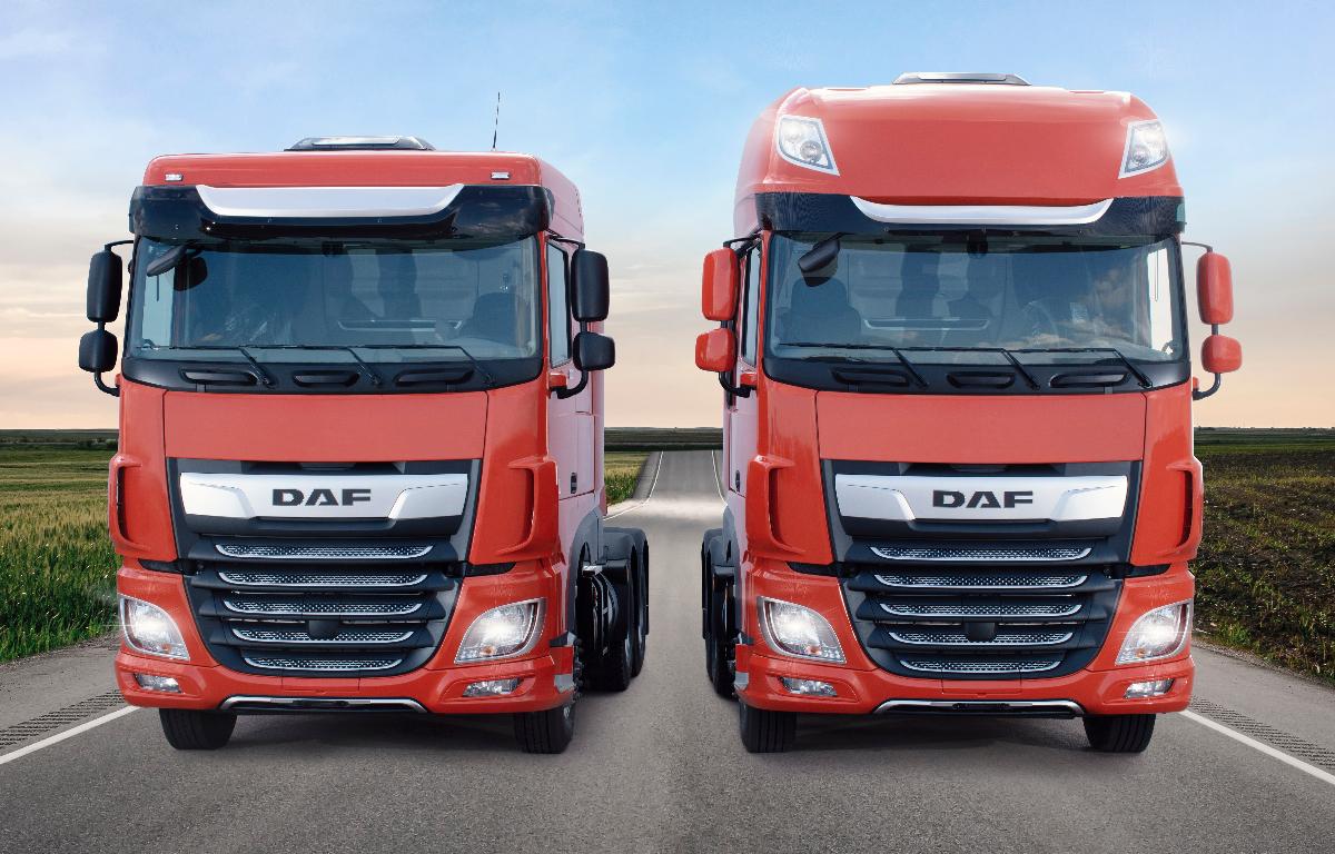 Imagem ilustrativa da notícia: DAF aumenta oferta de cores para o novo XF