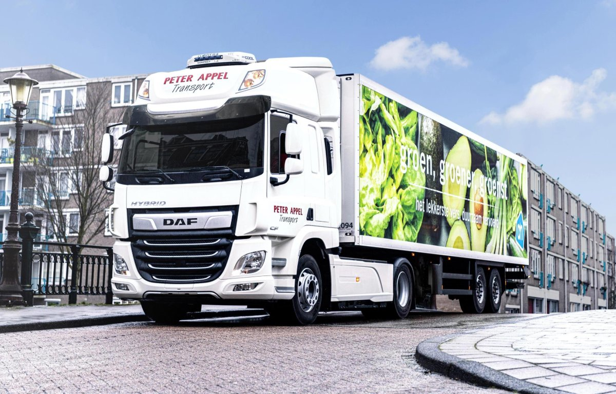 Imagem ilustrativa da notícia: DAF testa caminhões híbridos na Holanda