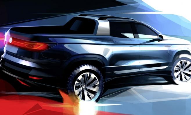 Imagem ilustrativa da notícia: Volkswagen terá picape conceito no Salão