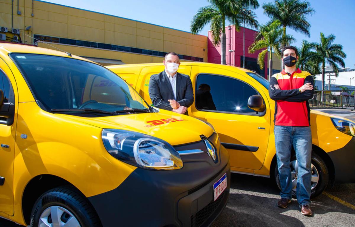 Imagem ilustrativa da notícia: DHL expande frota de veículos elétricos