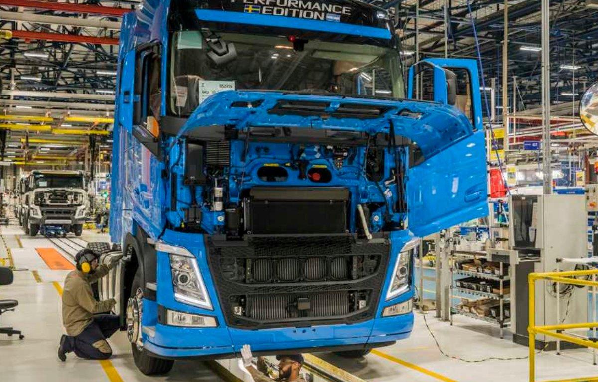 Imagem ilustrativa da notícia: Diminuiu o tempo de entrega à rede Volvo