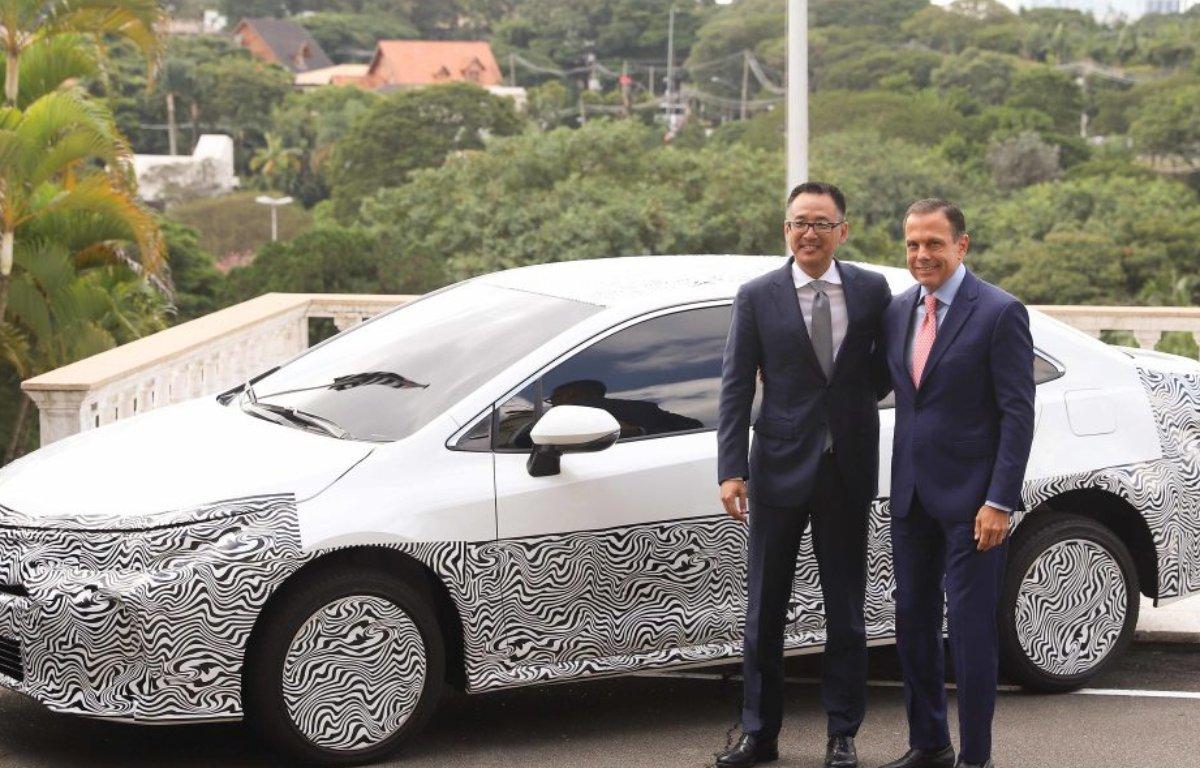 Imagem ilustrativa da notícia: Doria garante IncentivAuto para a Toyota