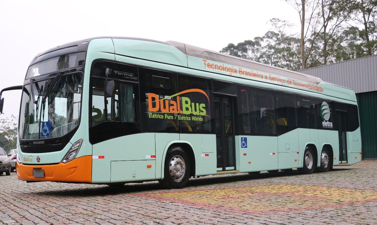 Imagem ilustrativa da notícia: Eletra apresenta o ônibus híbrido nacional